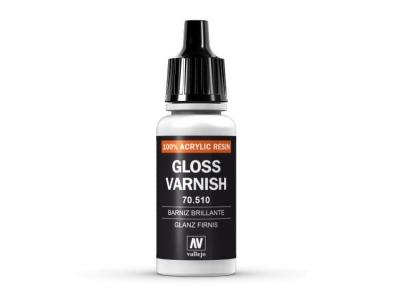 Vallejo Gloss Varnish, 70.510, Глянцевый лак, 17 мл