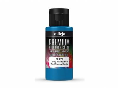 Vallejo Premium AirBrush Color, 62.076, Синий кэнди, 60 мл