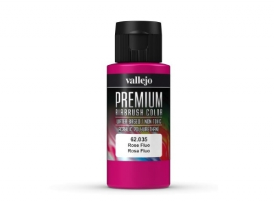 Vallejo Premium AirBrush Color, 62.035, Розовый Флюр, 60 мл