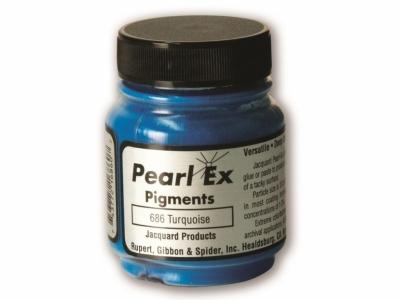 Перламутровый пигмент Jacquard Pearl Ex, JPX686, Бирюзовый, 14,17 г