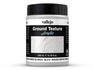 Vallejo Diorama Effects Rough White Pumice, 26.212, белые скалы и стены, 200 мл