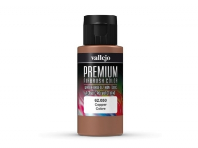 Vallejo Premium AirBrush Color, 62.050, Медь, 60 мл