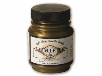 Jacquard Lumiere Color, JAC548, Металлик состаренная латунь, 67 мл