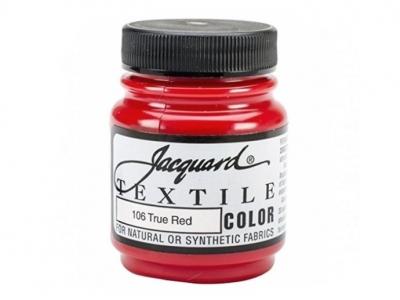 Jacquard Textile Color, JAC106, Красная, 67 мл