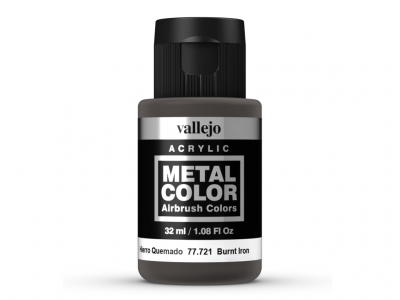Vallejo Metal Color, 77.721, Металлик Выгоревшее железо, 32 мл