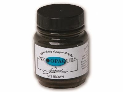 Jacquard Neopaque Color, JAC592, Укрывистая коричневая, 67 мл