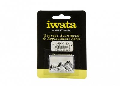 """Быстроcъёмный штекер 1/8"""" Iwata HPA-QJP3 (3 шт.)"""