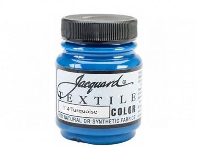 Jacquard Textile Color, JAC114, Бирюзовая, 67 мл