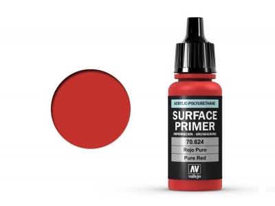 Vallejo Surface Primer, 70.624, Красный грунт, 17 мл