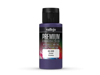 Vallejo Premium AirBrush Color, 62.008, Фиолетовая, 60 мл