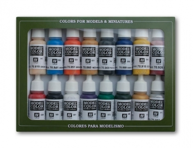 Набор красок Napoleonic Colors для кисти, 70.110