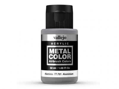 Vallejo Metal Color, 77.701, Металлик Алюминий, 32 мл