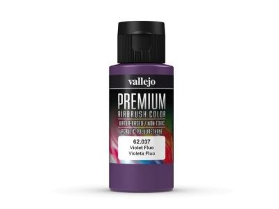 Vallejo Premium AirBrush Color, 62.037, Фиолетовый Флюр, 60 мл