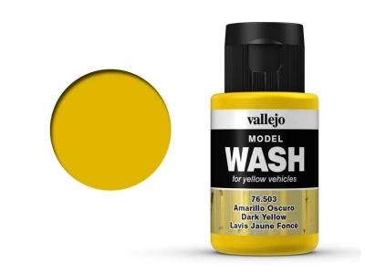 Vallejo Model Wash, 76.503, Проливка Тёмно-жёлтая, 35 мл