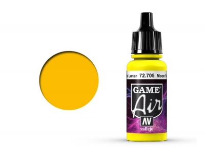 Vallejo Game Air, 72.705, Moon Yellow, Цвет жёлтой луны, 17 мл