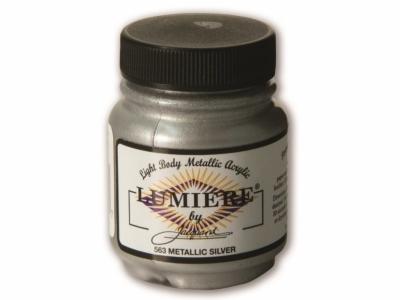 Jacquard Lumiere Color, JAC563, Металлик серебро, 67 мл