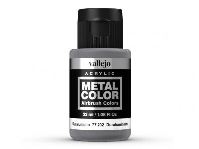 Vallejo Metal Color, 77.702, Металлик Дюраль, 32 мл