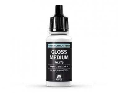 Vallejo Gloss Medium, 70.470, Глянцевый медиум, 17 мл