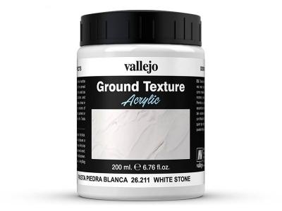 Vallejo Diorama Effects White Stone, 26.211, строительный раствор, 200 мл
