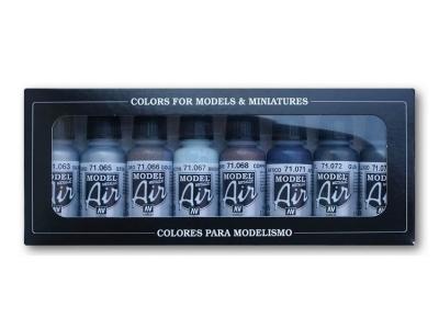 Набор красок Metallic Colors для аэрографа, 71.176