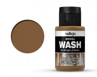 Vallejo Model Wash, 76.523, Проливка Земляная пыль, 35 мл