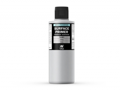Vallejo Surface Primer, 74.601, Серый грунт, 200 мл