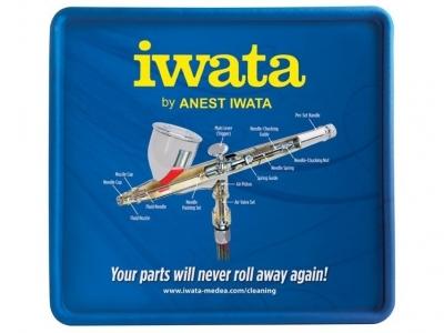 Коврик для разборки аэрографа Iwata CL200