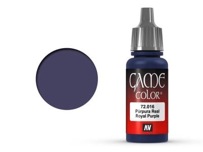 Vallejo Game Color, 72.016, Royal Purple, Королевский пурпурный, 17 мл