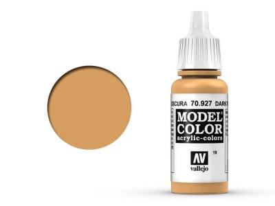 Vallejo Model Color, 70.927, Dark Flesh, Телесный тёмный, 17 мл