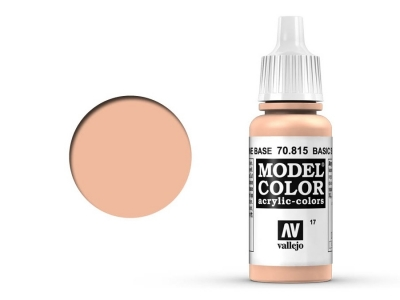 Vallejo Model Color, 70.815, Basic Skin Tone, Базовый телесный, 17 мл