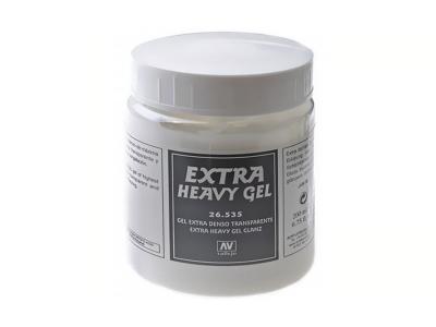Vallejo Extra Heavy Gel Gloss, 26.535, сверхвязкий глянцевый гель, 200 мл