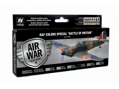 "Набор красок RAF Colors Special ""Battle of Britain"" для аэрографа, 71.144"