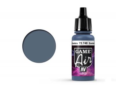 Vallejo Game Air, 72.748, Sombre Grey, Цвет серого мрака, 17 мл