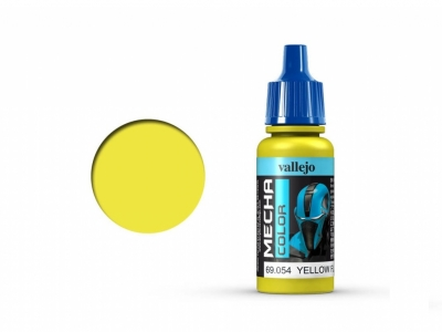 Vallejo Mecha Color, 69.054, Жёлтая флуоресцентная, 17 мл