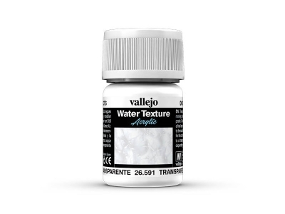Vallejo Diorama Effects Transparent Water, 26.591, прозрачная вода, 35 мл