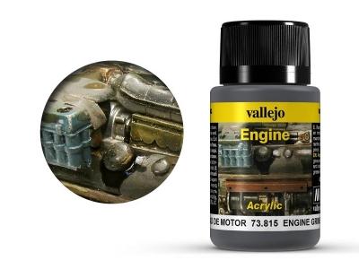 Vallejo Engine Grime, 73.815, грязь двигателя, 40 мл