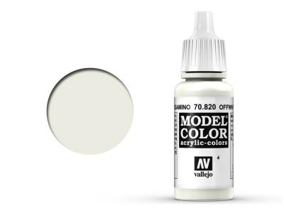 Vallejo Model Color, 70.820, Off-white, Грязная белая, 17 мл